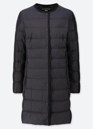 Ультралегкое пальто/подложка/ пуховик на пуху uniqlo 38/м