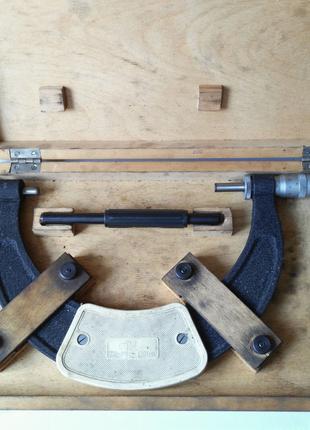Профессиональный. Микрометр-скоба МК-К 150-175мм, ц/д 0,01мм.