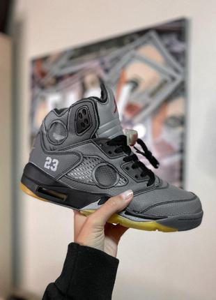 Кроссовки Nike Air JORDAN 5 Retro x Off-White