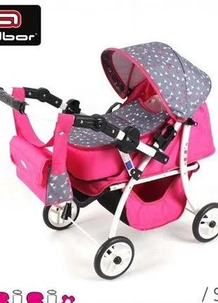 коляска для кукол  ADBOR SISI 08