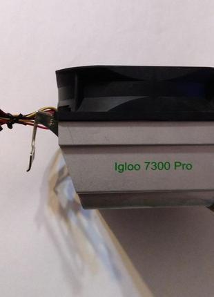Охлаждение для процессора Sock AM2/AM3 GlacialTech Igloo 7300 Pro