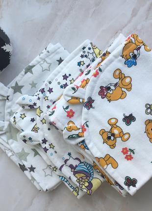 Полотенце-уголок для новорожденных