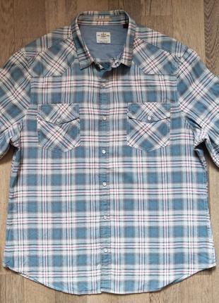 Мужская рубашка River Island XL, длинный рукав, на кнопка