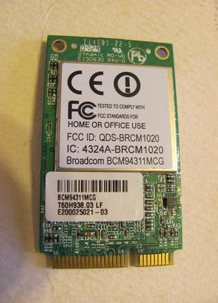 Модуль WiFi PCIE BCM94311MCG для ноутбука