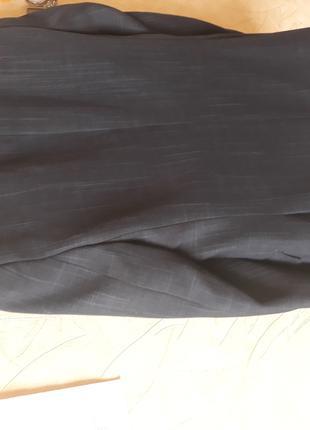 Пиджак класика, школьный темно синий