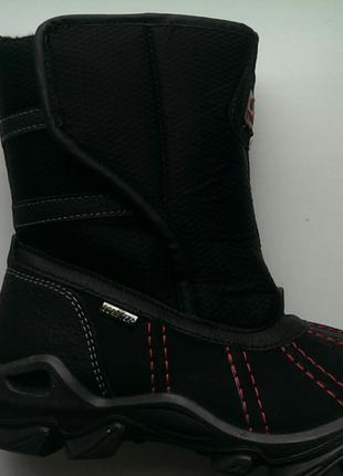 Ботинки зимние primigi gore-tex, размер 34