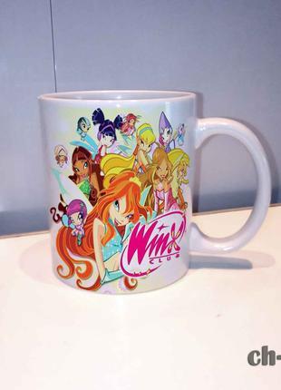 Чашка для девочки винкс winx