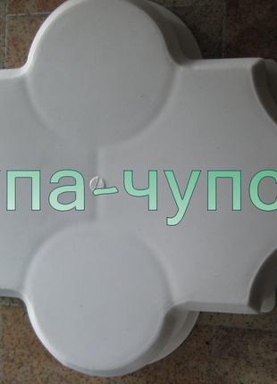 Формы для тротуарной плитки Клевер в Запорожье сделай сам себе пл
