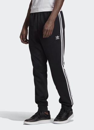 Мужские спортивные брюки Адидас спортивки с манжетом Adidas