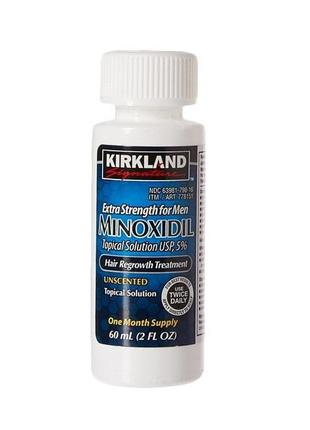 Миноксидил Киркланд Kirkland Minoxidil Для Роста Волос И Бороды