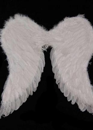 Маскарадный костюм амура ангела  крылья большие белые