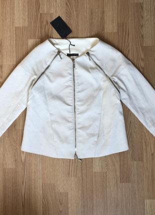 Plein sud par fayҫal amor s/m  italy paris 38 luxury белая куртка