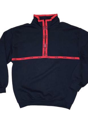 Moschino l jeans винтажных флисовая кофта