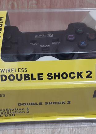 Джойстик игровой для PS3/PS2/PC Double Shock 2  (3 in 1) , джойст