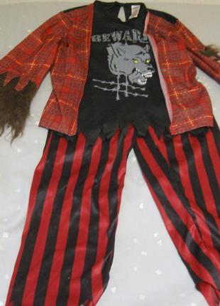 Карнавальный костюм волка , новогодний волк на 7-8 лет.