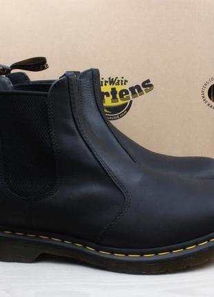 Мужские кожаные ботинки челси dr. martens оригинал, размер 45 ...