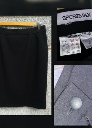 Max mara sportmax юбка шерсть размер 48