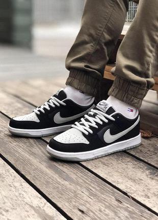 Мужские кроссовки nike черно белого цвета