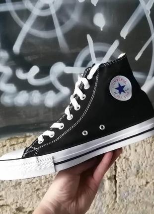Кеды детские конверсы converse all star черные высокие купить ...