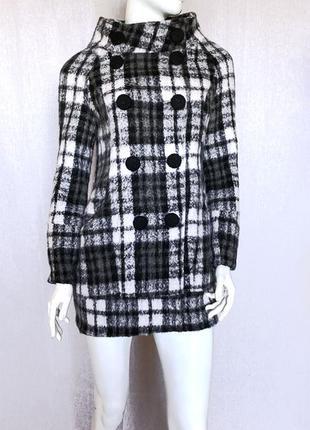 Шерстяное пальто кокон vero moda, s