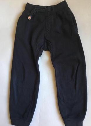 Спортивные штаны джоггеры с начесом для мальчика 5 6 лет 116