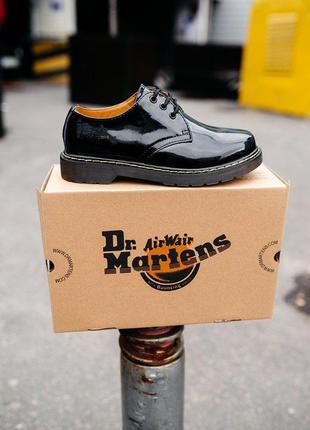 🍒♣️dr.martens 1461 patent classic black♣️🍒туфли доктор мартинс...