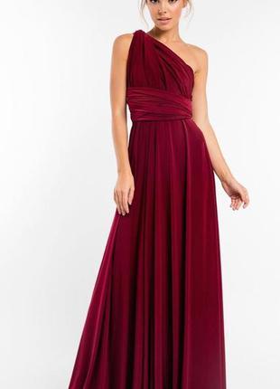 Платье трансформер. платье для подружки невесты. вечернее плат...