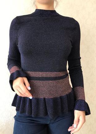 Фирменная блуза кофта