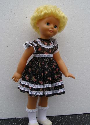 Кукла- лялька- куколка- большая-65 см. Ссср