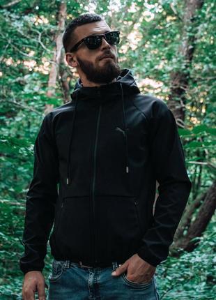 Крутая мужская софтшелл куртка