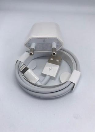 Зарядное устройство блок и кабель для iPhone, зарядка для айфон