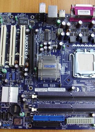 Материнская плата Foxconn 915M12-PL-6LS, (Socket 775)