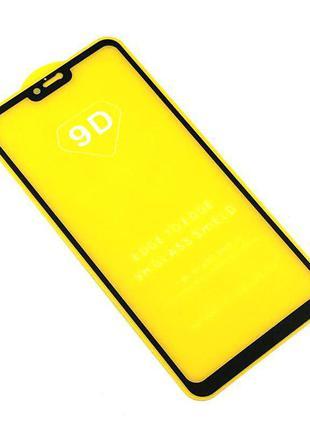Защитное стекло 9D XIAOMI RedMi Note 6 Black (тех. упаковка)