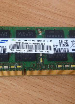 Оперативная память Samsung DDR3-1333 4GB #0016