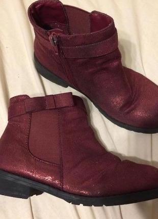 Primark ботинки блестящие