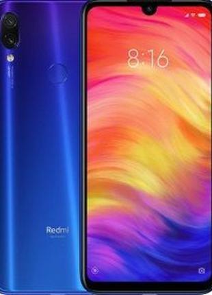 Xiaomi Redmi Note 7 4/64 Global + бампер + стекло!