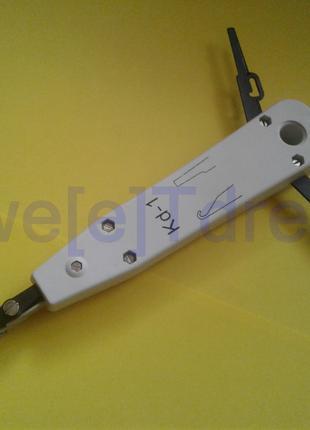 Инструмент для заделки кабеля RJ45 розеток UTP KD-1 CAT5  85 грн