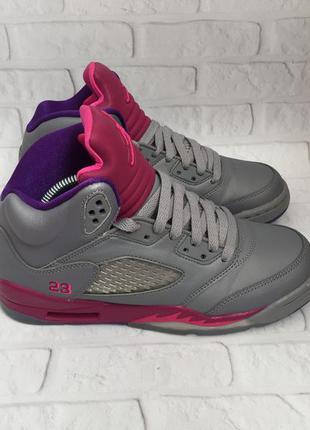 Баскетбольні кросівки nike air jordan 5 retro женские баскетбо...