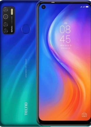 Мобільний телефон Tecno Spark 5Pro 4/128 Seabed Blue