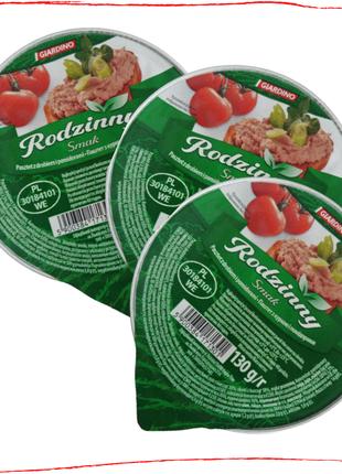 "Паштет куриный с помидорами 130 г ""RodzinnySmak"""