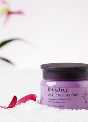 Крем для кожи вокруг глаз с экстрактом орхидеи от innisfree