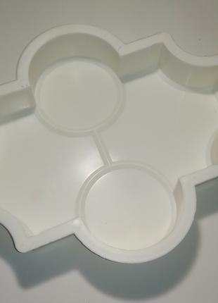 Пластиковые Формы Клевер, для Создания Тротуарной Плитки Своими Р