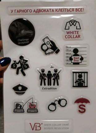 Новые стикеры наклейки объемные на ноутбук телефон ежедневник
