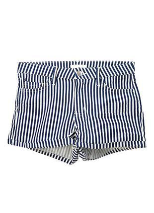 Оригинальные короткие шорты из твила от бренда h&m разм. 34