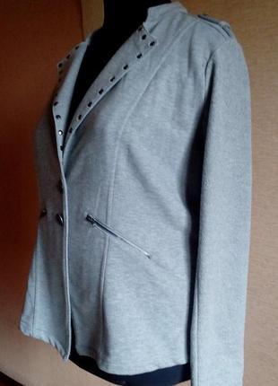 Крутой блайзер пиджак 56/60 размера