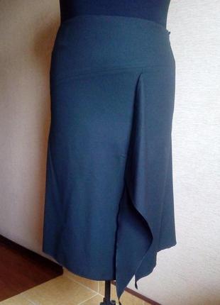 Юбка с шлейфом 50-52 размера