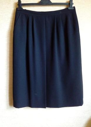 Классическая чёрная юбка 50/52 размер