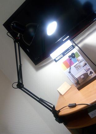Лампа swing ad-800 для настольного освещения и идеальных бликов н