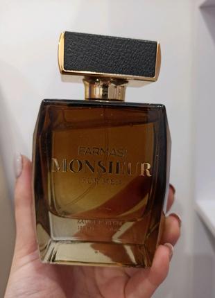 Мужская парфюмированная вода Monsieur