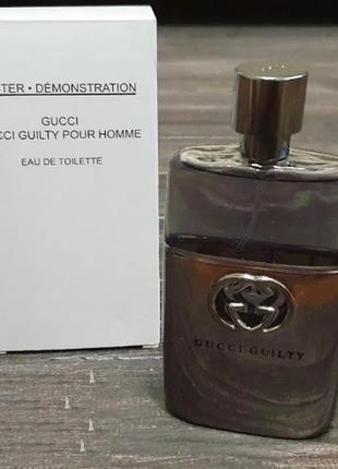 Gucci guilty pour homme tester гуччи гилти туалетная вода для ...